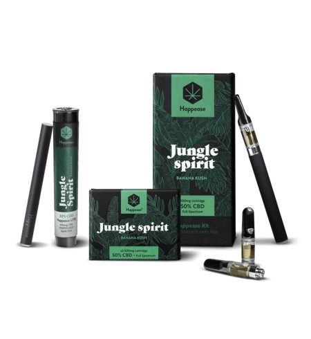 HAPPEASE - Jungle Spirit 50% CBD vap